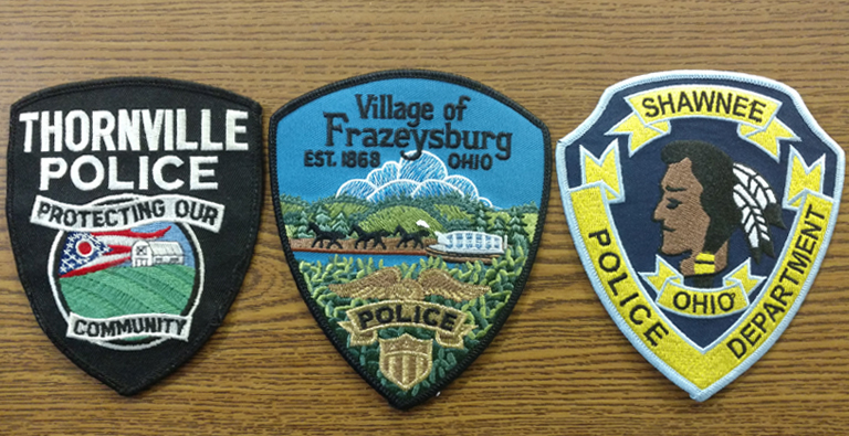 Police Patch Trading